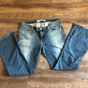 Gap jeans, ultra low-rise & boot cut